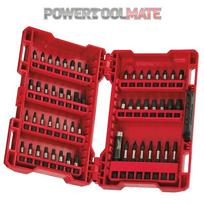 Milwaukee 4932430907 Shockwave 56 Piece Screwdriver Drill Bit Set