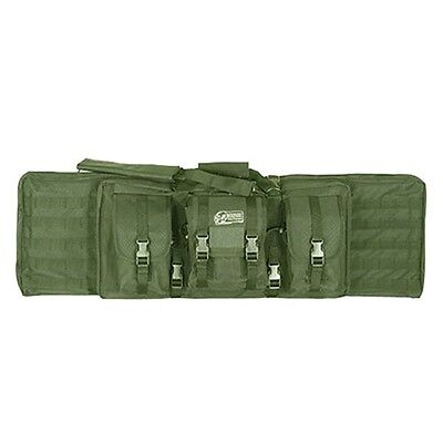 """Voodoo Tactical 46"""" Double Padded Double Weapons Rifle Case"""