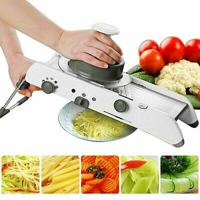 Mandoline Cutter (Mandoline Slicer Manual Vegetable Cutter Professional Grater Adjustable Blades)
