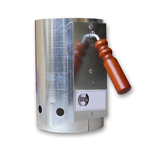 ACCENDIFUOCO CIMINIERA ACCENSIONE barbecue 17x27 cm ACCIAIO INOX PAPILLON