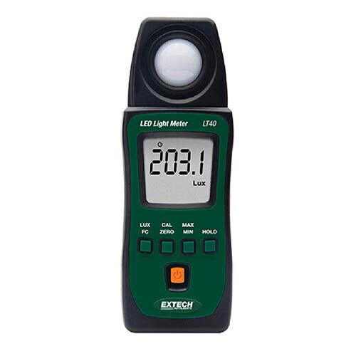 Extech LT40 LED Light Meter for Illuminance of White LED Lights