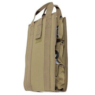 Condor VA7 TAN Pack Insert Travel Medic Utility Kit Tool Organizer Bag Carrier