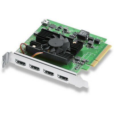 Blackmagic Design DeckLink Quad HDMI Recorder Capture Card  - Ships From Miami for sale  Shipping to India