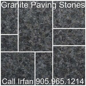 Jet Black Granite Flagstone Pavers Granite Paving Stones Patio