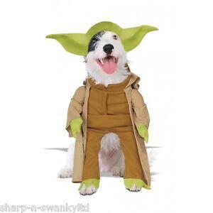 Pet Dog Cat Star Wars Yoda Princess Leia Darth Vader Fancy Dress Costume Outfit