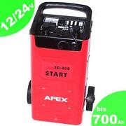 Batterieladegerät Starthilfe