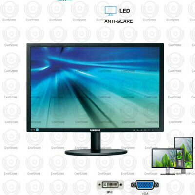 Samsung HD 22 inch LCD Monitor Desktop Computer PC With cables