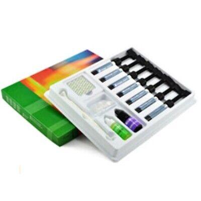 Prime-dent Light Cure Hybrid Composite Vlc 7 Syringe Kit