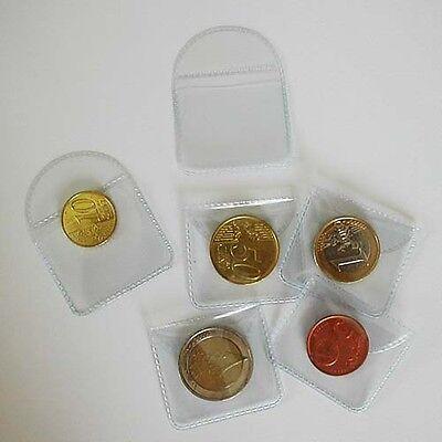 100 muntenzakjes 35/40 - pochettes numismatiques