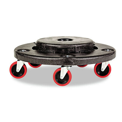 Rubbermaid 250 lb. Capacity Brute Quiet Dolly (Black) 264043BLA NEW
