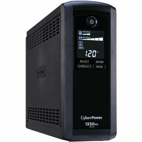 CyberPower CP1350AVRLCD-R Intelligent LCD UPS System - Refurbished
