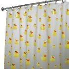 Yellow Novelty Shower Curtain Set Shower Curtains