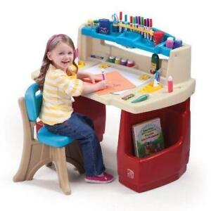Step2 Deluxe Art Master Kids Desk - BRAND NEW - FREE SHIPPING