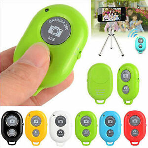 Remote Bluetooth Wireless Shutter Camera Control Self timer For iPhone Samsung