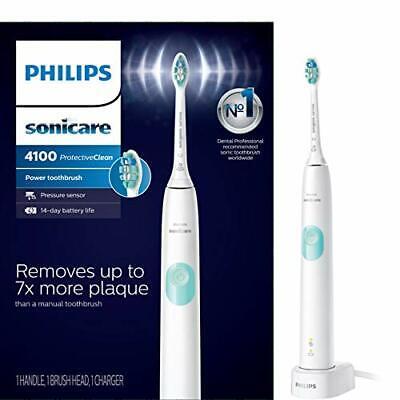Philips Sonicare ProtectiveClean 4100 Sonic elektrisk tandbørste HX6817 / 01 Hvid