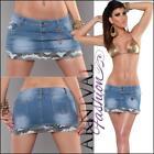 Denim Mini Skirts for Women