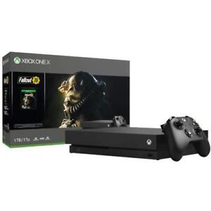 Xbox One X 1 TB - Fallout 76 Bundle, Sealed in the Box