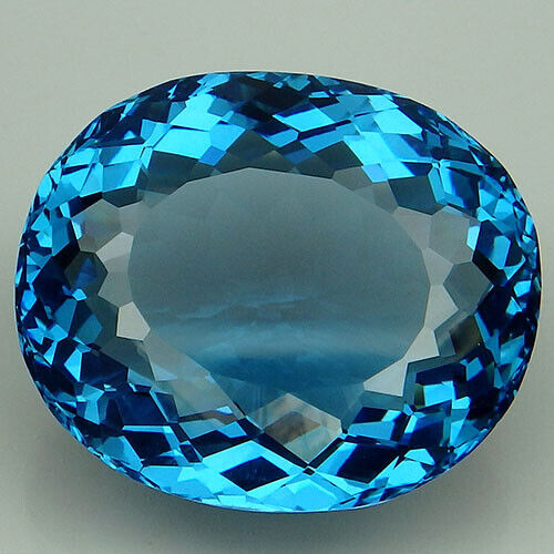 31.8CT. PLEASANT!!! BLUE TOPAZ OVAL