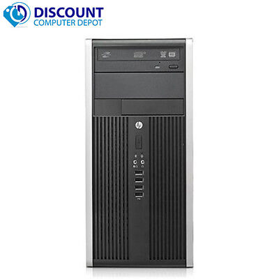 HP Tower Computer PC Windows 10 8GB 16GB 500G 1TB 2TB SSD WiFi Dual LCD Ready