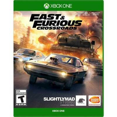 Fast & Furious Crossroads Xbox One Brand New Sealed