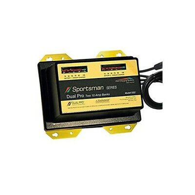 20 Amp 2 Bank (Dual Pro Sportsman Series Battery Charger 2 Bank 20 Amp)