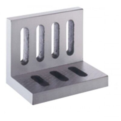 8 X 6 X 5 200 X 150 X 125 Mm Precise Webbed Open End Slotted Angle Plate
