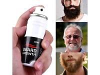 60ml Men Beard Mustache Glow Stimulator Fast Nutrition Growth Spray
