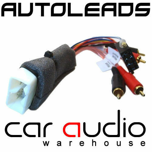 PC9-411 Toyota Supra 1993-97 Amplified Car Stereo Bypass ISO Wiring Harness Lead