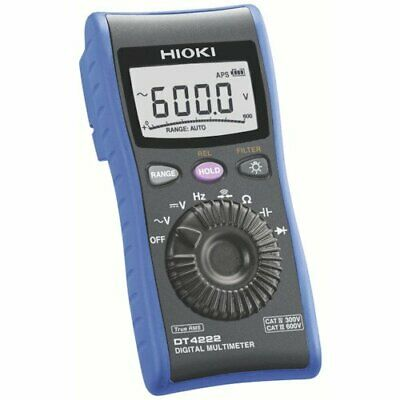 Hioki Hioki Dt4222 Digital Multimeter Generic Type C Measurement Resis