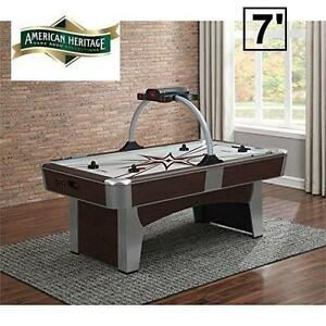 NEW AH 7' MONARCH AIR HOCKEY TABLE - 116469653 - AMERICAN HERITAGE