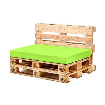 Lime Seat Cushion for Euro Pallet Garden Furniture Waterproof Outdoor Sofa UK
