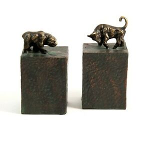 Bey-Berk Bull and Bear Bookend  R11S
