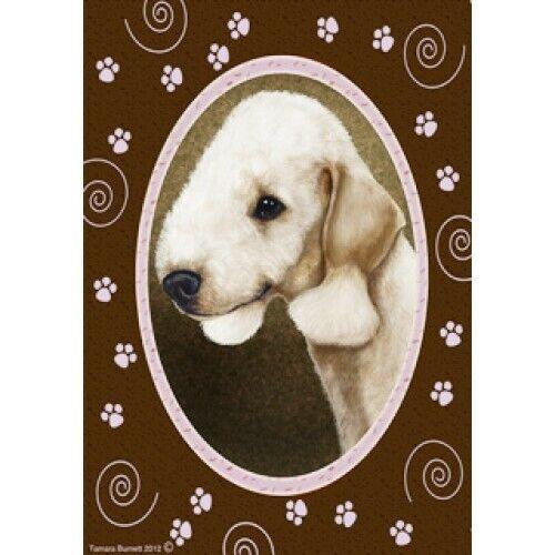 Paws House Flag - Bedlington Terrier 17132