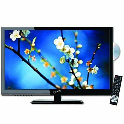 Supersonic 13.3-Inch 1080p LED Widescreen AC/DC HDTV w/ Built-in DVD Player