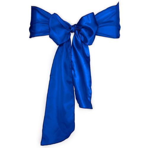 royal blue chair sashes ebay