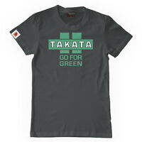 Official Takata 'go For Green ' Asphalt T-shirt - Xxl Uk Stock - takata - ebay.co.uk