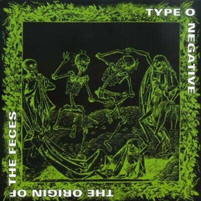 Type O Negative - Origin Of The Feces (Gold) (CD Used Very Good) - Good Halloween Rock Music