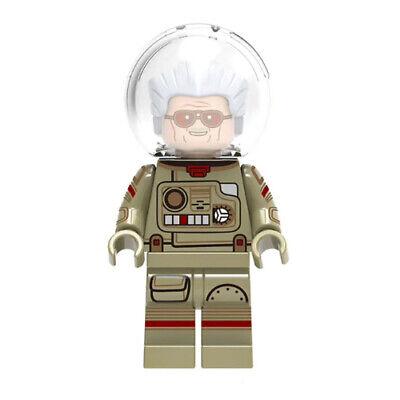 Stan Lee Minifigure Marvel Comics Creator Avengers Custom Minifigure for Lego