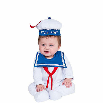 Ghostbusters - Stay Puft Marshmallow Man Newborn / Infant Costume