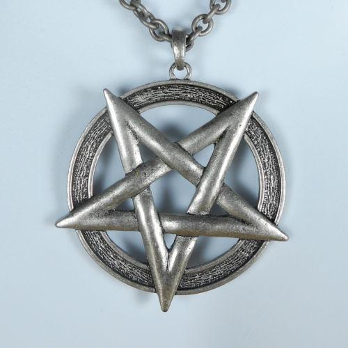 Satanic Pentagram Necklace Ebay