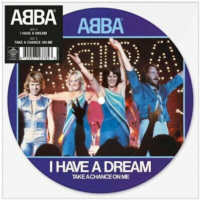 ABBA ‎I Have A Dream Single EP Picture Disc Vinyl New Sealed