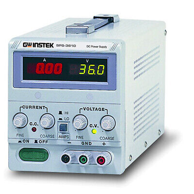 Instek Sps3610 Switching Dc Power Supply 36v10a