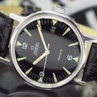 Genuine Leather Band OMEGA Omega Geneve Wristwatches