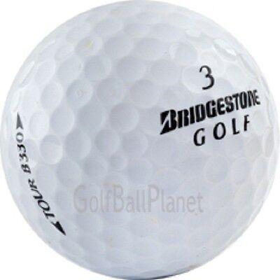 B330 Mint - 24 Bridgestone B330 Near Mint Used Golf Balls AAAA