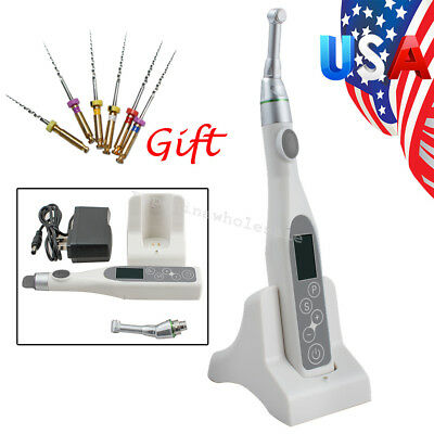 Dental Wireless Endodontic Endo Motor Root Canal Treatment Contra Angle Files