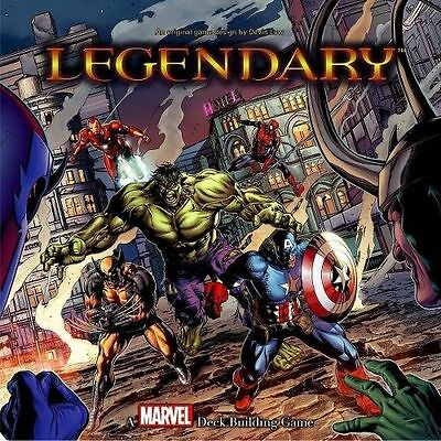 Marvel Legendary Deck Building Game Card Board Game New Sealed