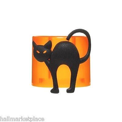 Yankee Candle Scent Plug in Base - Black Cat Orange Halloween NEW
