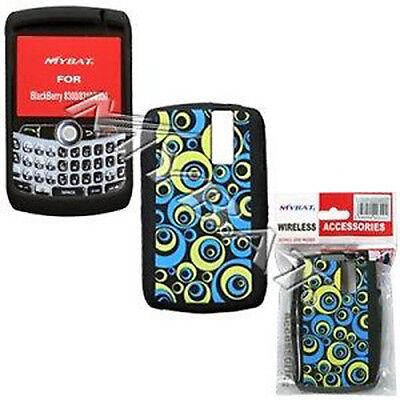 Blue Groove Rubber Skin Case for BlackBerry Curve 8330 Blackberry Curve Rubber Cases