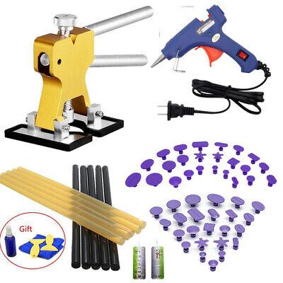 Best Bridge Puller Set Paintless Dent Repair Pulling Kit Melt Glue Gun US (Best Dent Puller Kit)