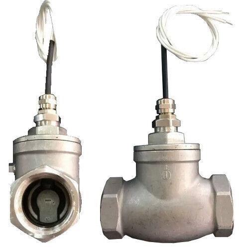 Liquid flow switch sensor NPT 1/2 inch female/female Stainless Steel FSS-N1FF-SS